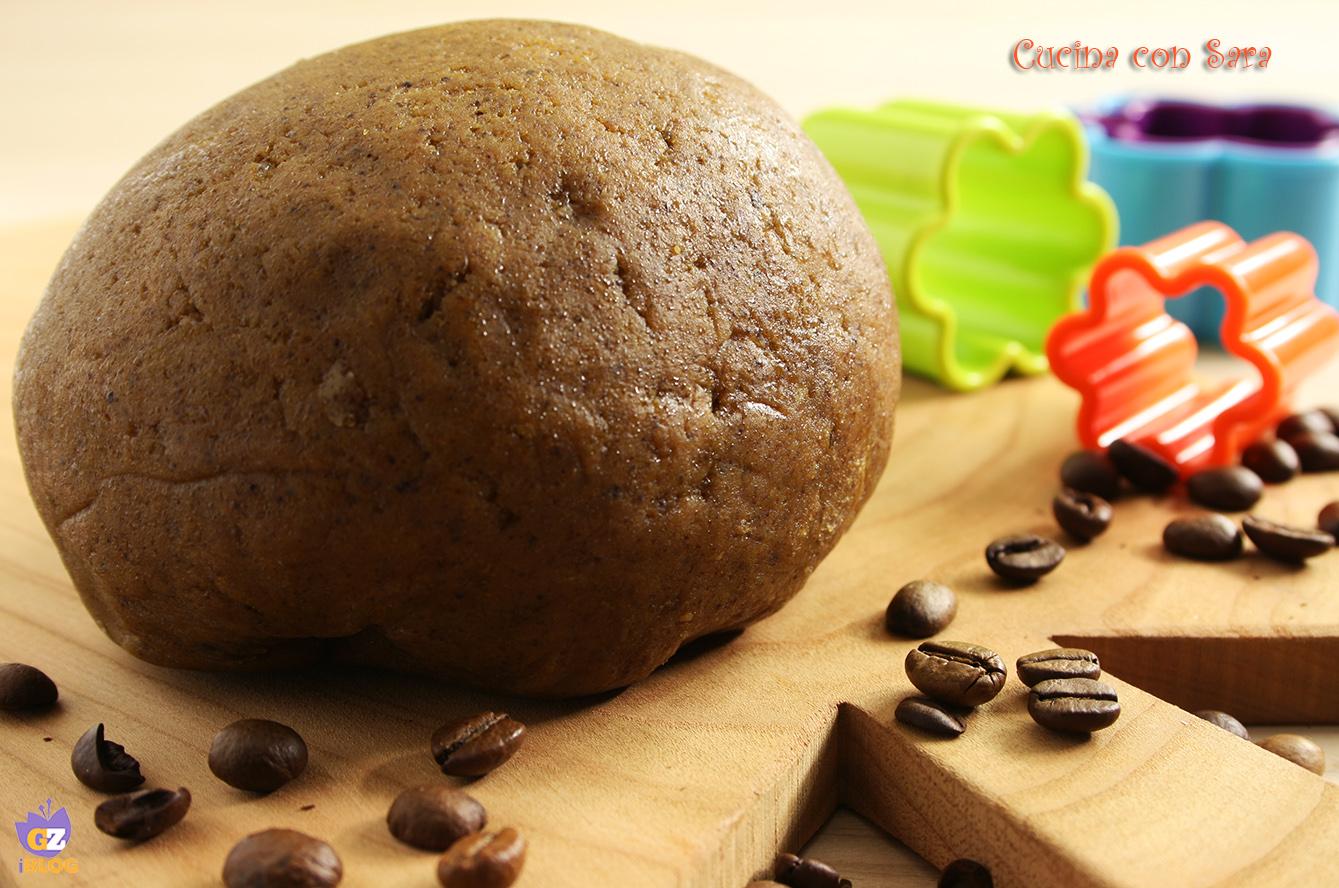 Ricetta pasta frolla al caffe, cucina con sara