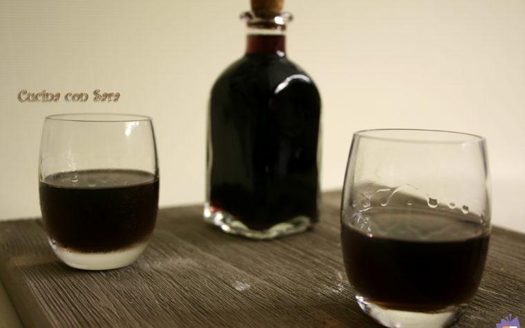 Liquore di mirto fatto in casa