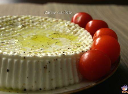 Ricetta formaggio primo sale