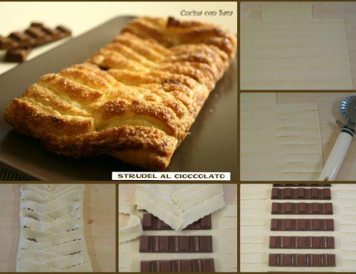 Strudel al cioccolato, ricetta veloce