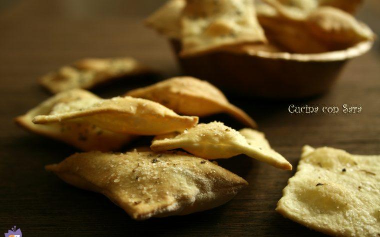 Ricetta crackers a lievitazione naturale