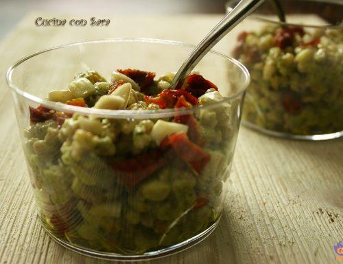 Farro con pesto di zucchine – ricetta vegetariana