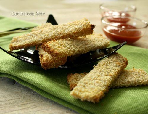 Chips di tofu ricetta
