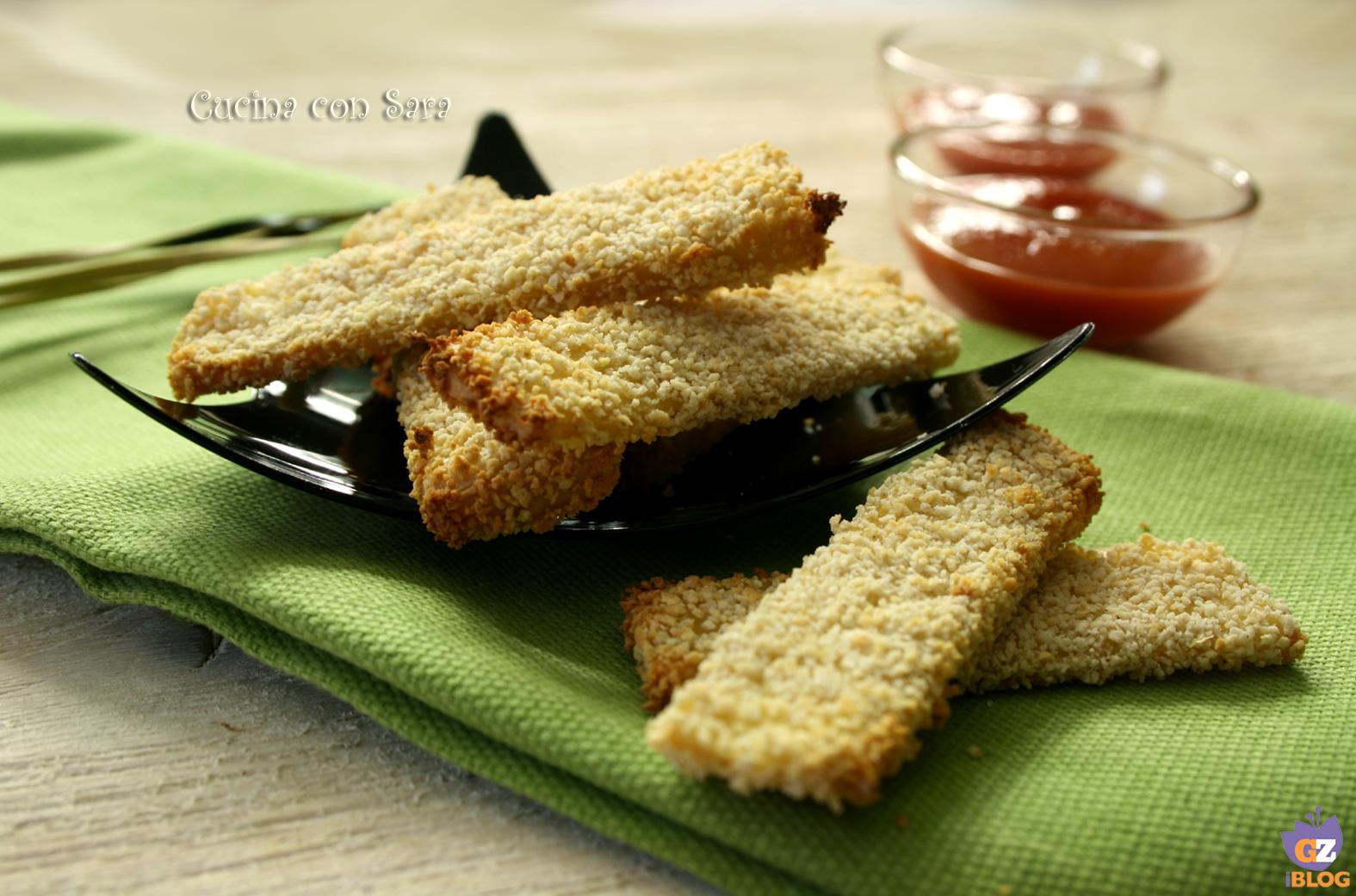 Chips di tofu ricetta, cucina con sara