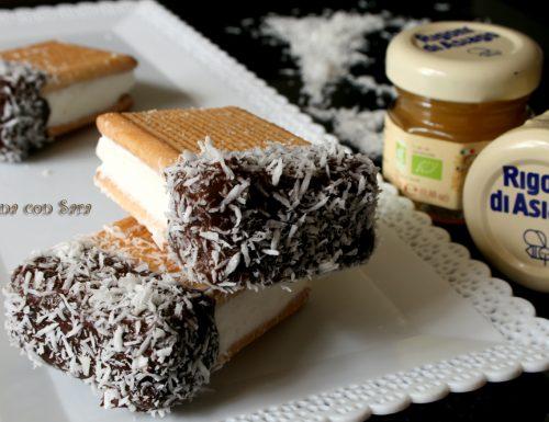 Biscotto gelato al miele