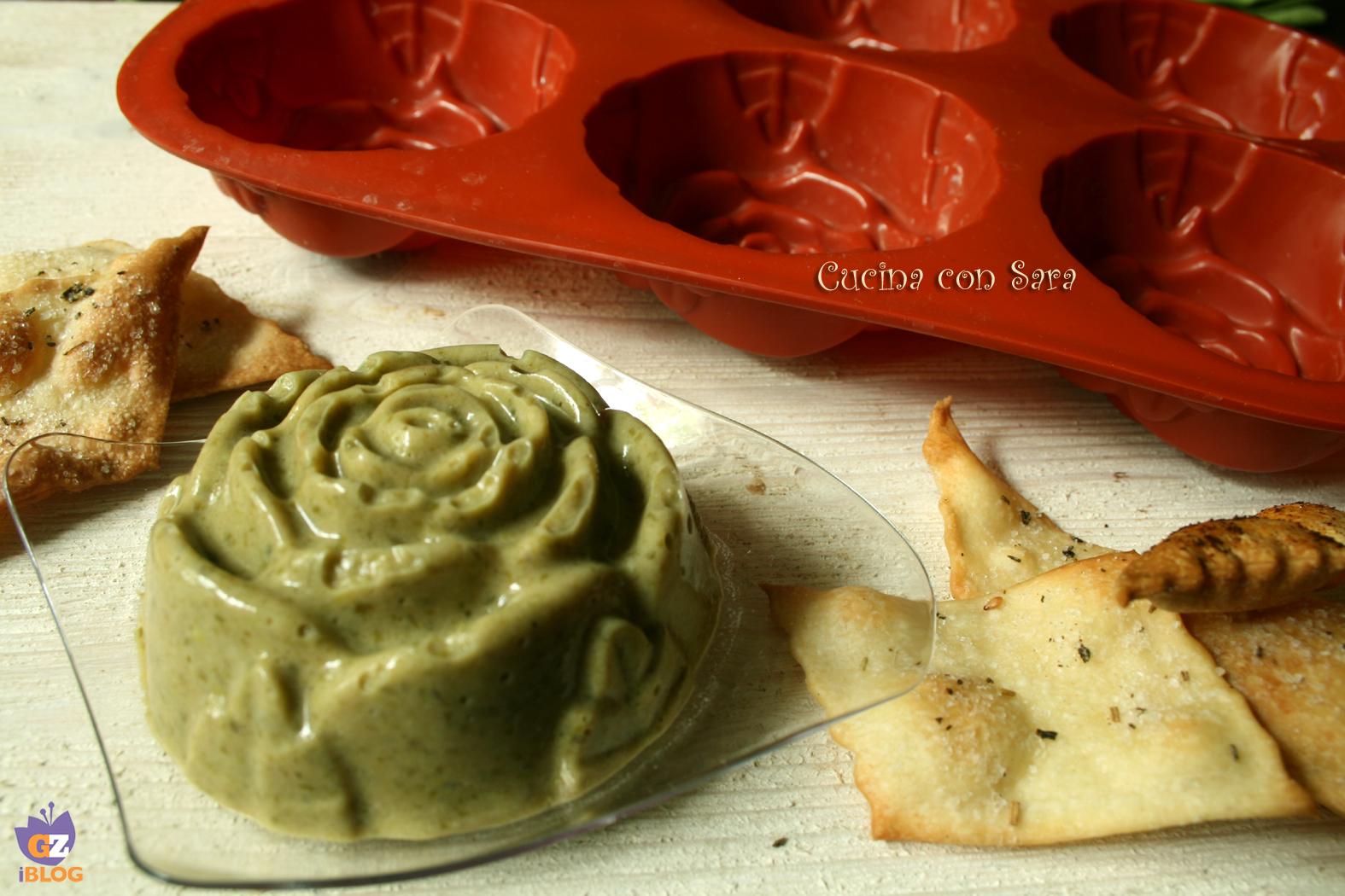 Mousse di fagiolini, cucina con sara