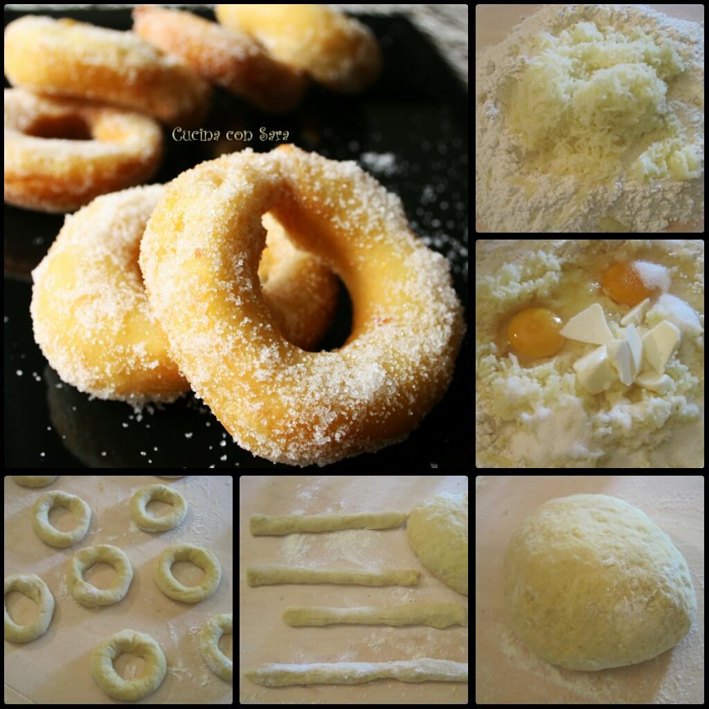 ciambelle di patate, cucina con sara
