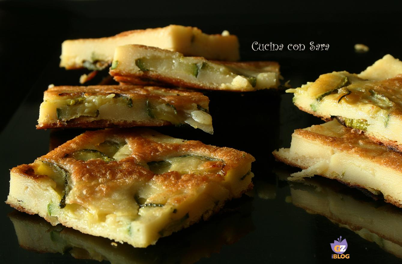 Frittata di ceci con zucchine cucina con sara - Cucina con sara ...