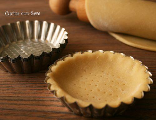 Pasta sable' di Giorilli, ricetta base