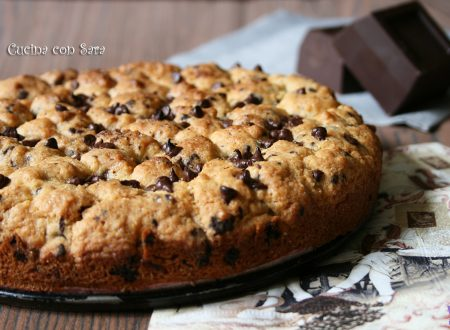 Torta cookies con nocciolata