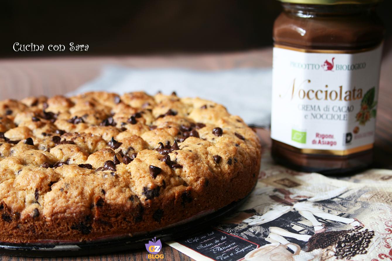 Torta cookies con nocciolata cucina con sara - Cucina con sara ...