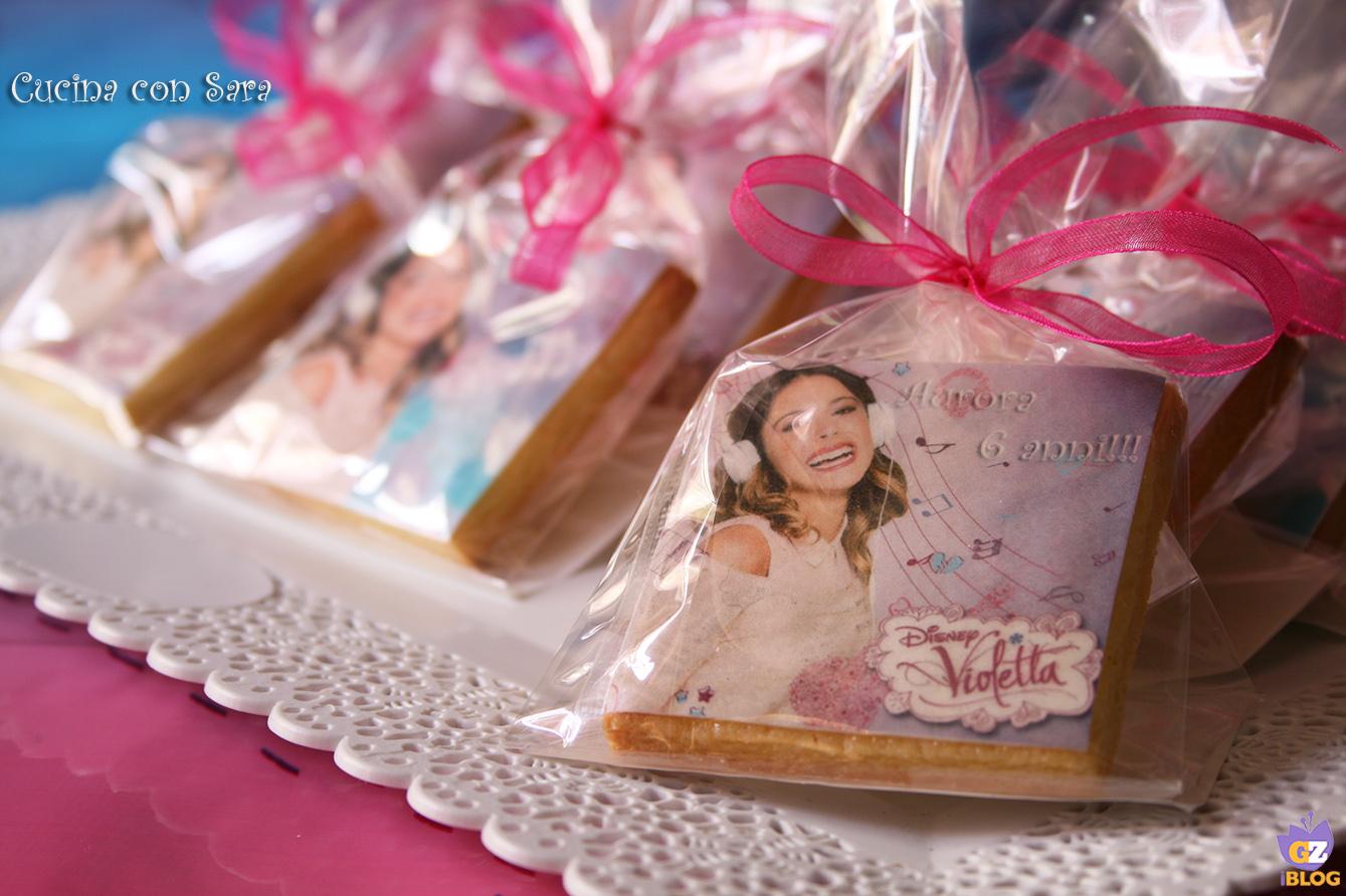 Biscotti Violetta - biscotti per bambini