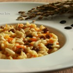 Ricetta risotto zucca, cucina con sara
