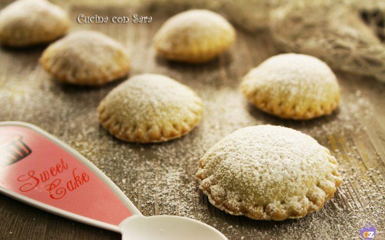Biscotti pasta strudel e nutella