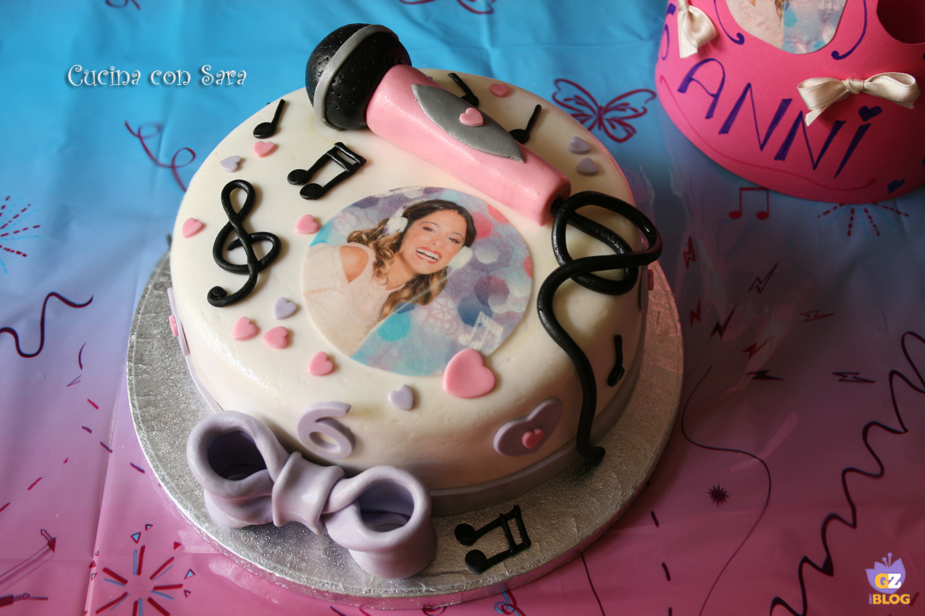 Torta Violetta Disney – torte per bambine.