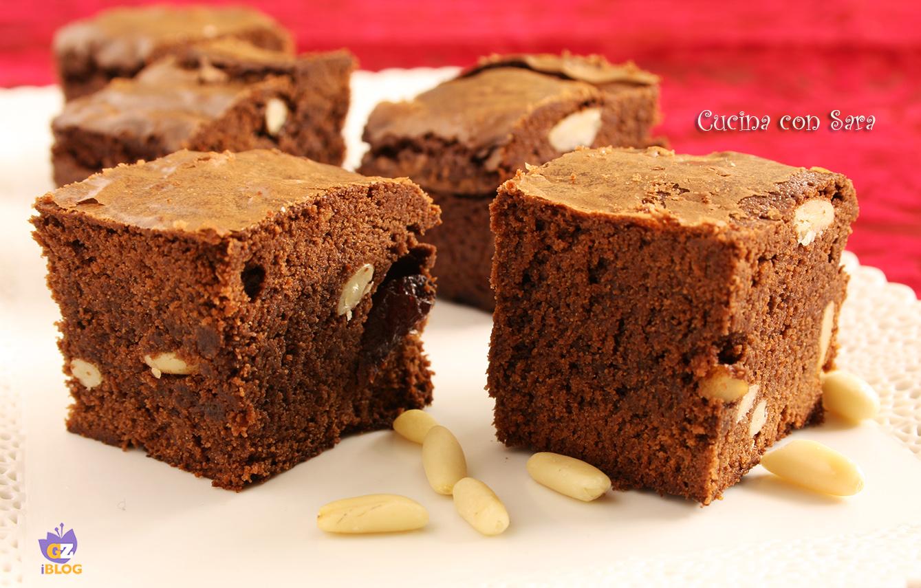 Ricetta brownies cucina con sara migliori ricette veloci - Cucina con sara ...