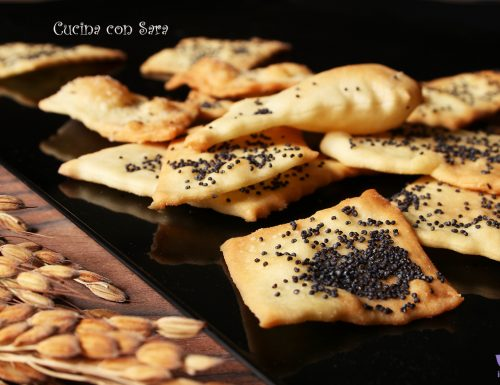 Crackers speziati con lievito di birra – ricetta sfiziosa