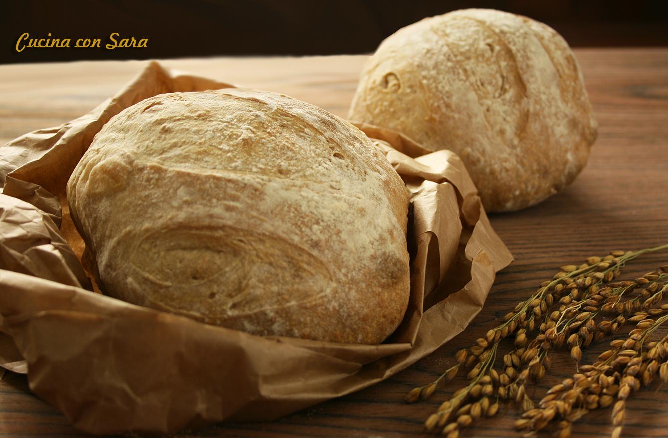 pane senza impasto, cucina con sara