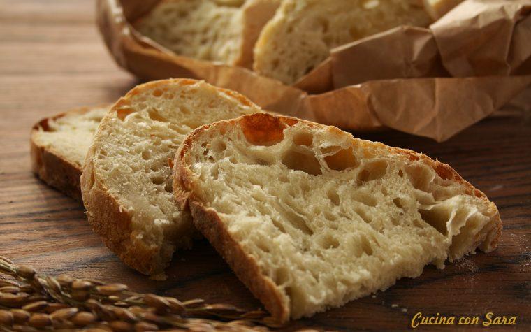 Pane senza impasto con lievito madre – video ricetta