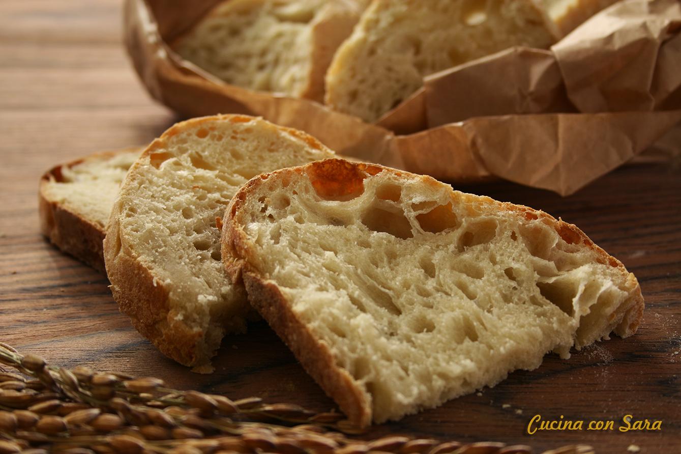Pane senza impasto ricetta, cucina con sara