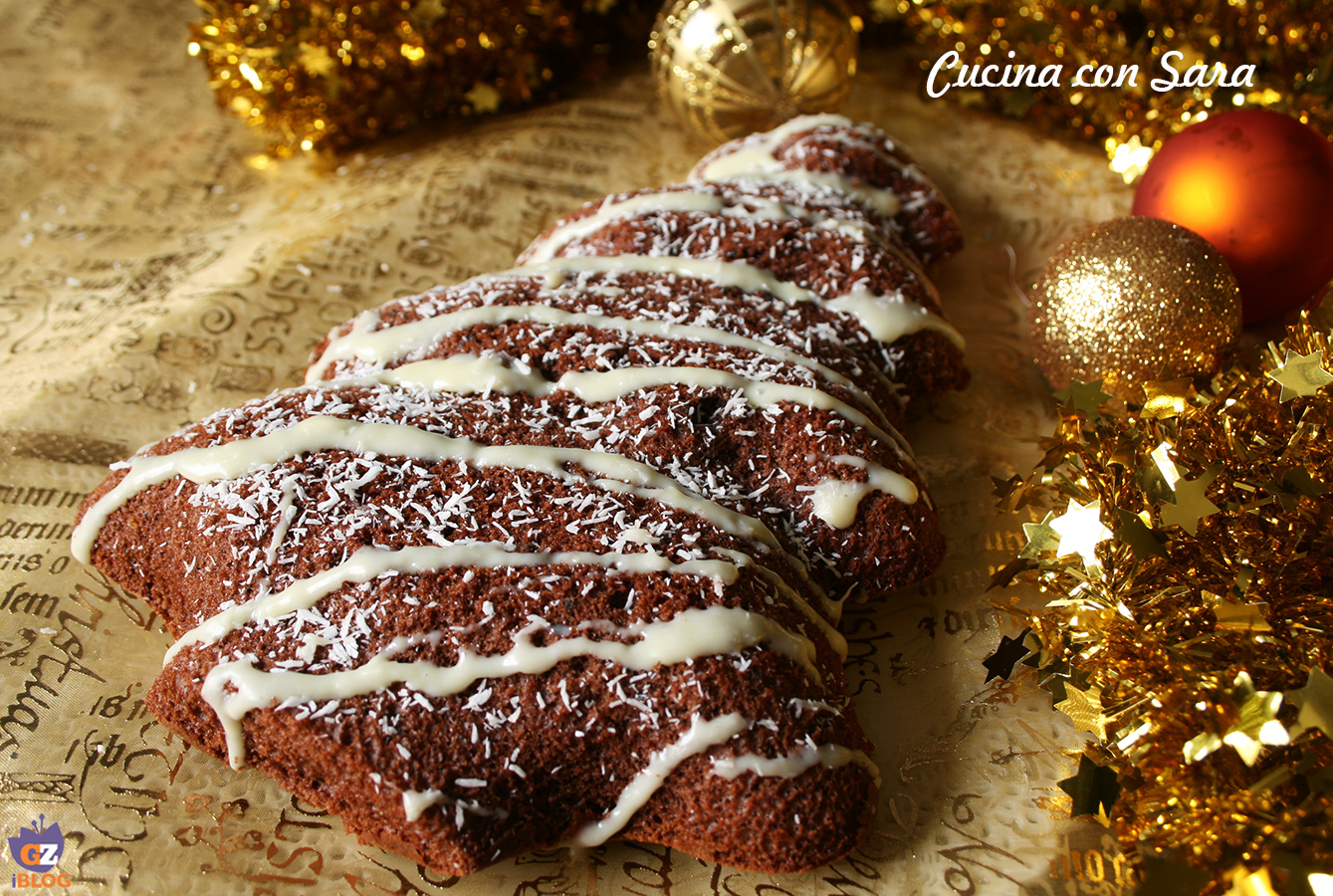 torta natalizia al latte caldo, cucina con sara