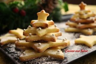 alberelli di pasta frolla cucina con sara