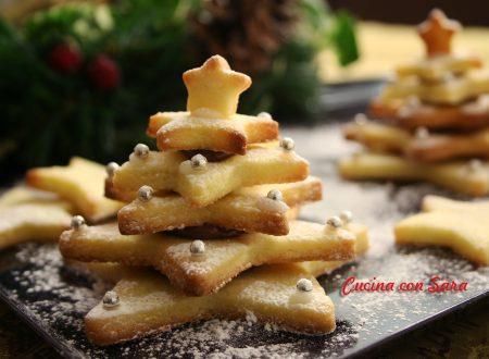 Alberelli di pasta frolla, ricetta natalizia