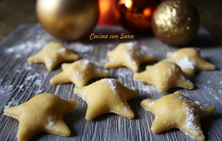 ravioli a stella con pecorino miele e noci