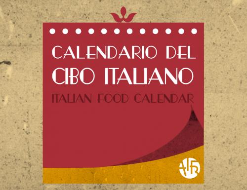 Calendario del cibo italiano promosso da AIFB