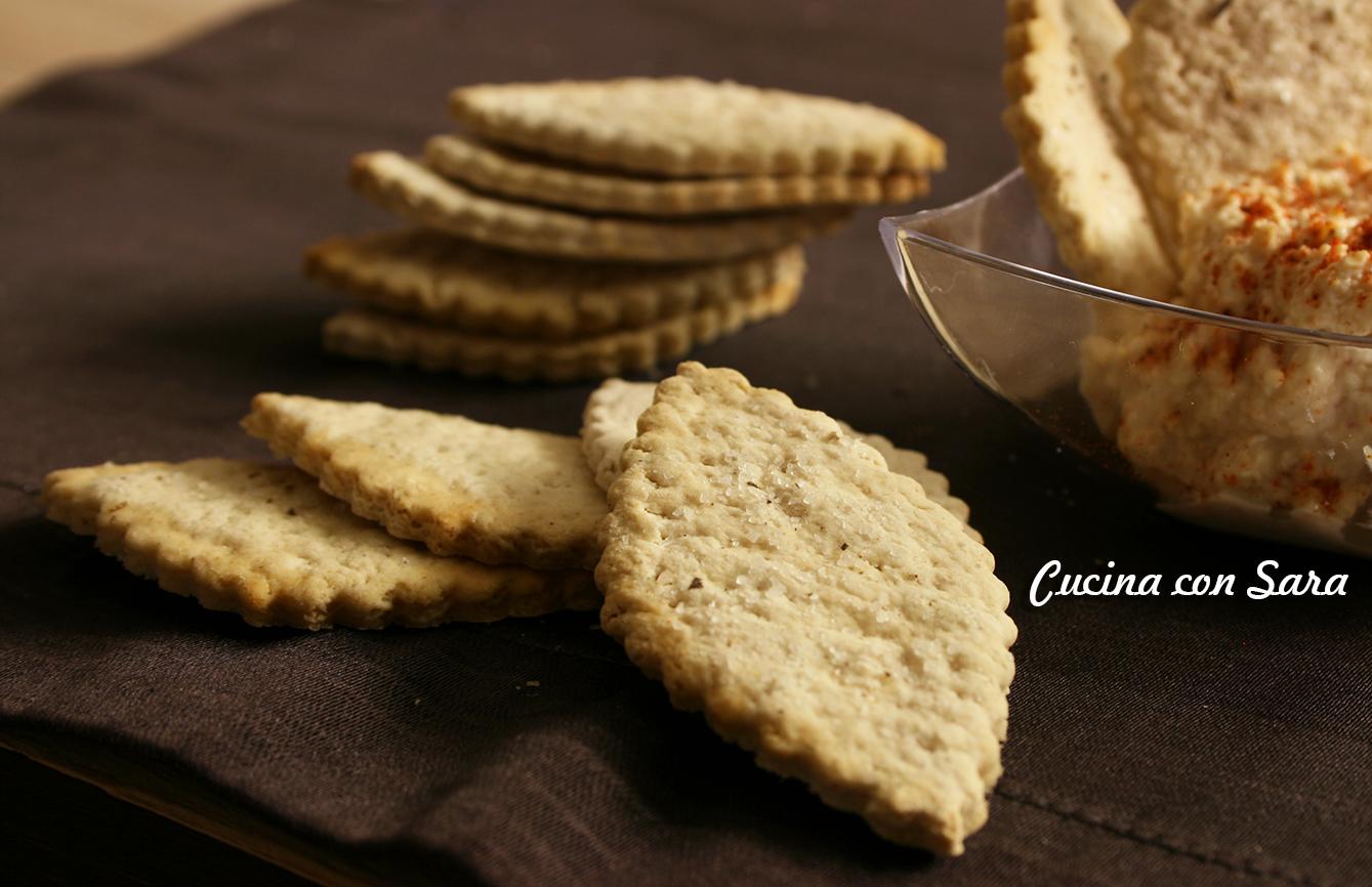 Crackers, grissini e taralli -RACCOLTA DI RICETTE INFALLIBILI