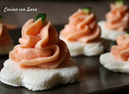 Mousse con salmone affumicato, ricetta finger food