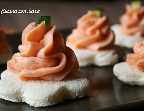 Mousse con salmone affumicato, ricetta finger food