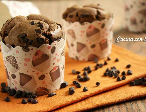 Ricetta muffin al cioccolato, ricetta senza burro