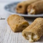 Rotolini di pan carrè fritti, cucina con sara
