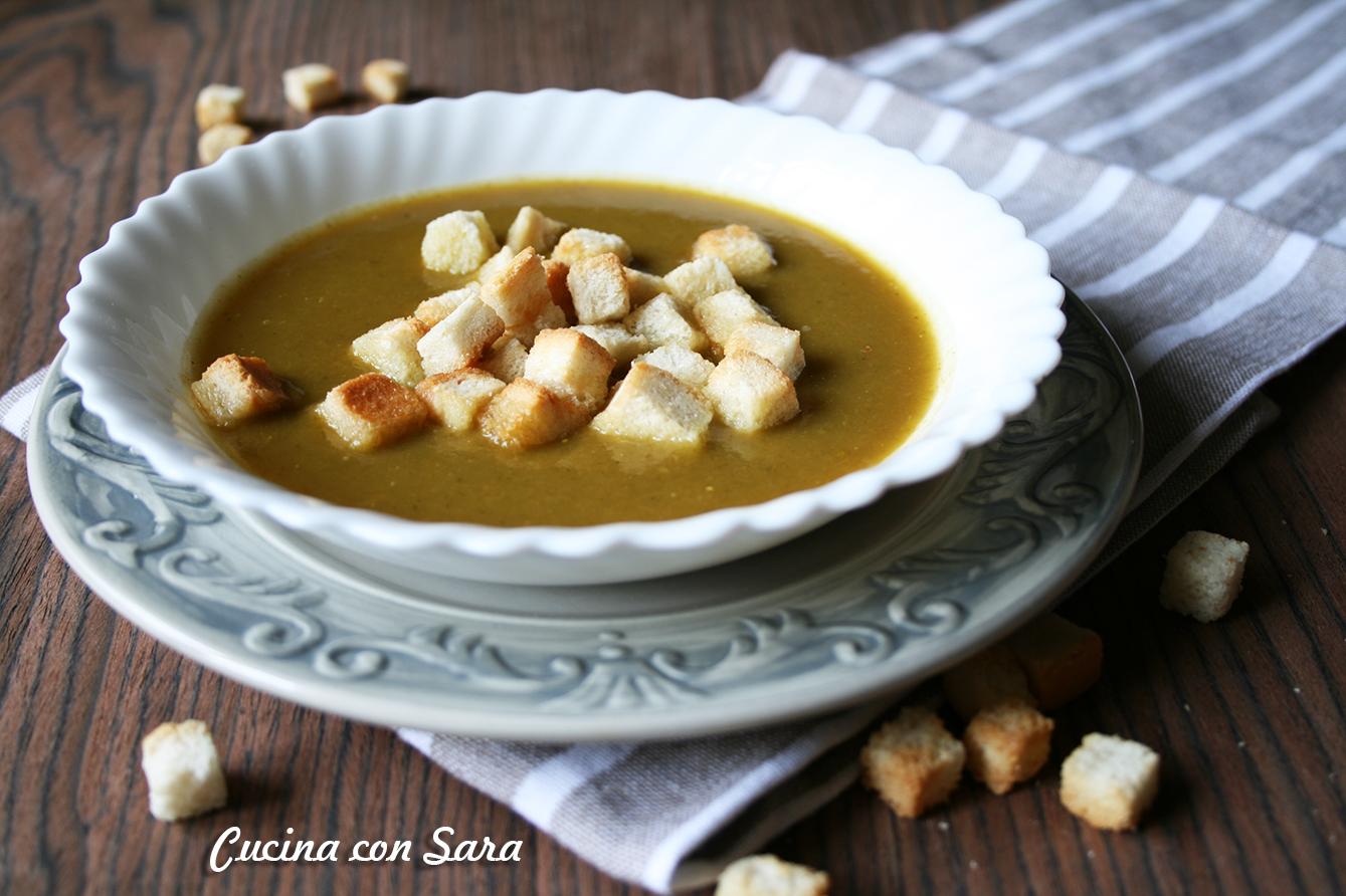 Ricetta Passato Di Verdure E Quinoa Con Crostini