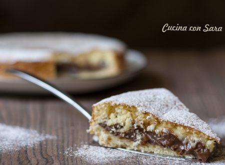 Torta crema al cioccolato - ricetta golosa