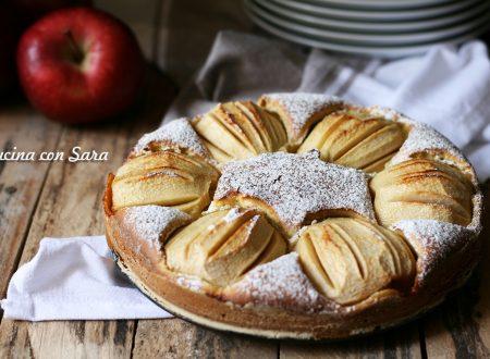 Torta di mele speziata, ricetta con latte di mandorla