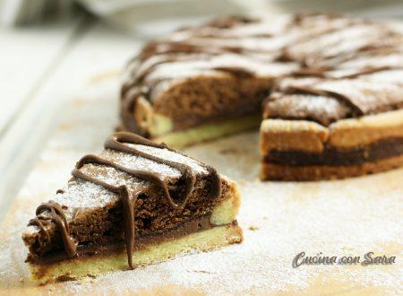 Crostata al cioccolato e nutella - tre strati di bontà!