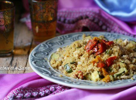 Cous cous verdure e sgombro – ricetta estiva