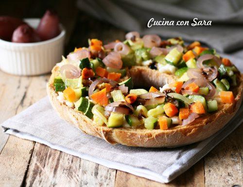 Friselle pugliesi ricetta con verdure e formaggio