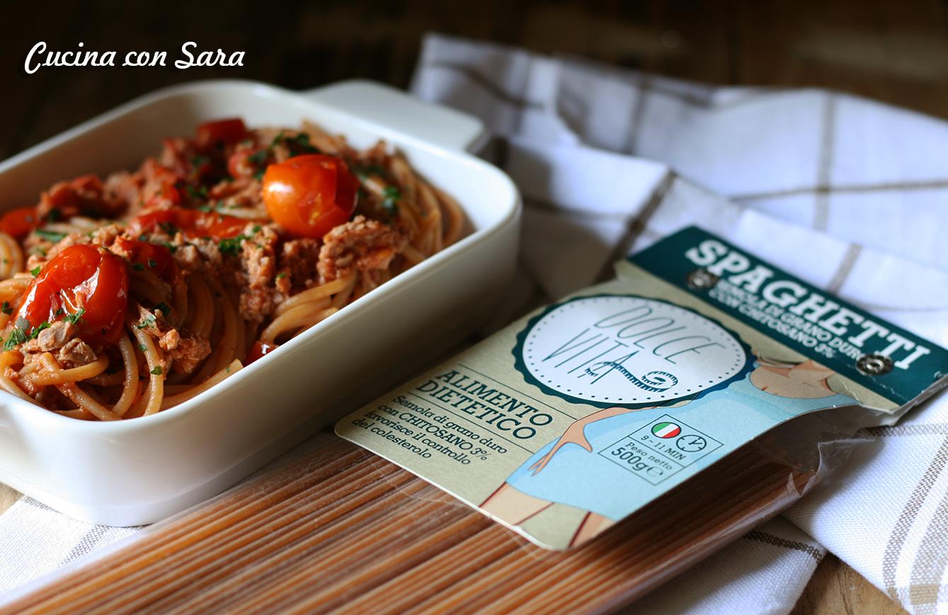 Spaghetti di semola con ragu' di vitellone