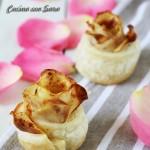 Rose di pasta sfoglia alle patate, cucina con sara