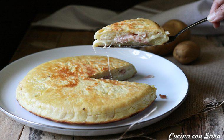 Tortino di patate in padella, ricetta sfiziosa!