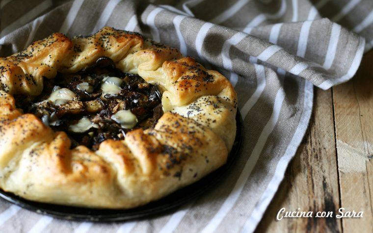 Torta rustica melanzane e scamorza – ricetta veloce