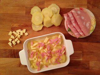 Ricetta millefoglie di patate preparazione