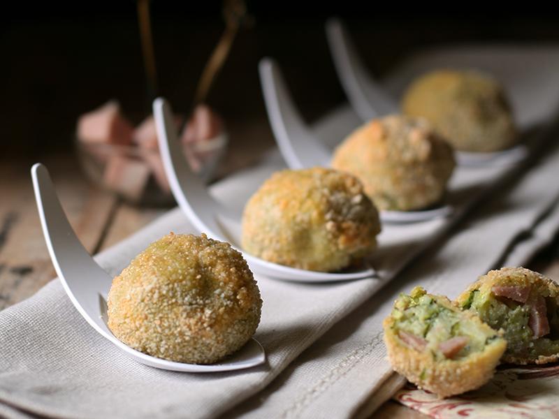 Ricetta polpette di zucchine e mortadella, cucina con sara