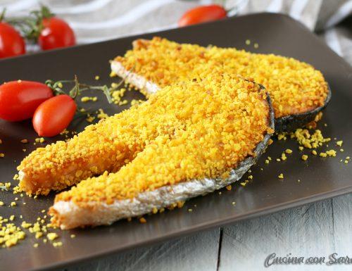Salmone impanato al forno – panatura extra croccante!