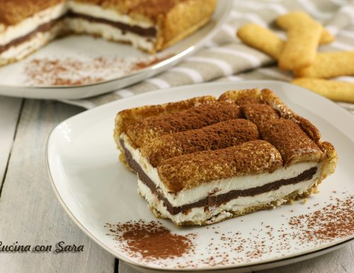 Torta fredda pavesini, panna e nutella – senza cottura