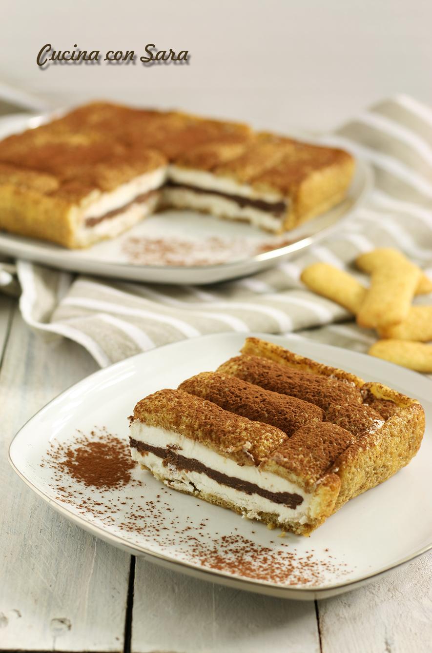 Torta fredda pavesini senza cottura - Ricette con la panna da cucina ...