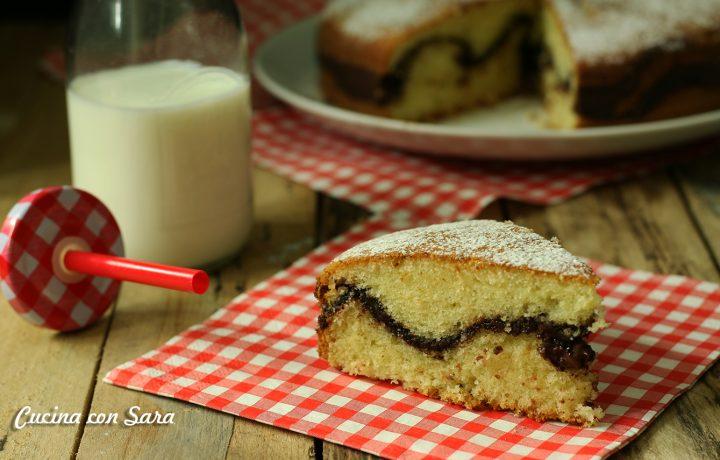Torta farcita alla nutella – soffice ed irresistibile!